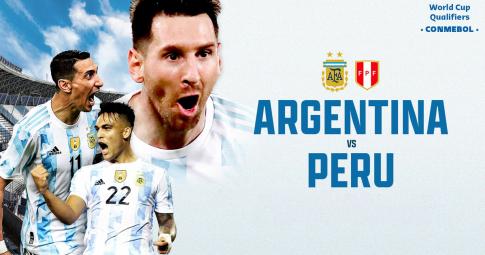 Xem trực tiếp Argentina vs Peru ở đâu, kênh nào
